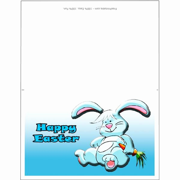 Free Easter Templates for Word Beautiful top 9 Easter Bunny Templates for Desktop Publishing Programs