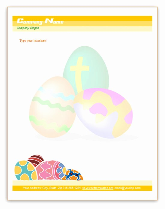 Free Easter Templates for Word Best Of Microsoft Word Templates Free Letterhead Templates