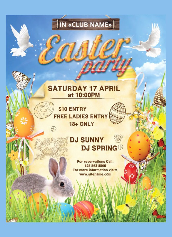Free Easter Templates for Word Fresh 16 Easter Poster Templates – Free Sample Example format