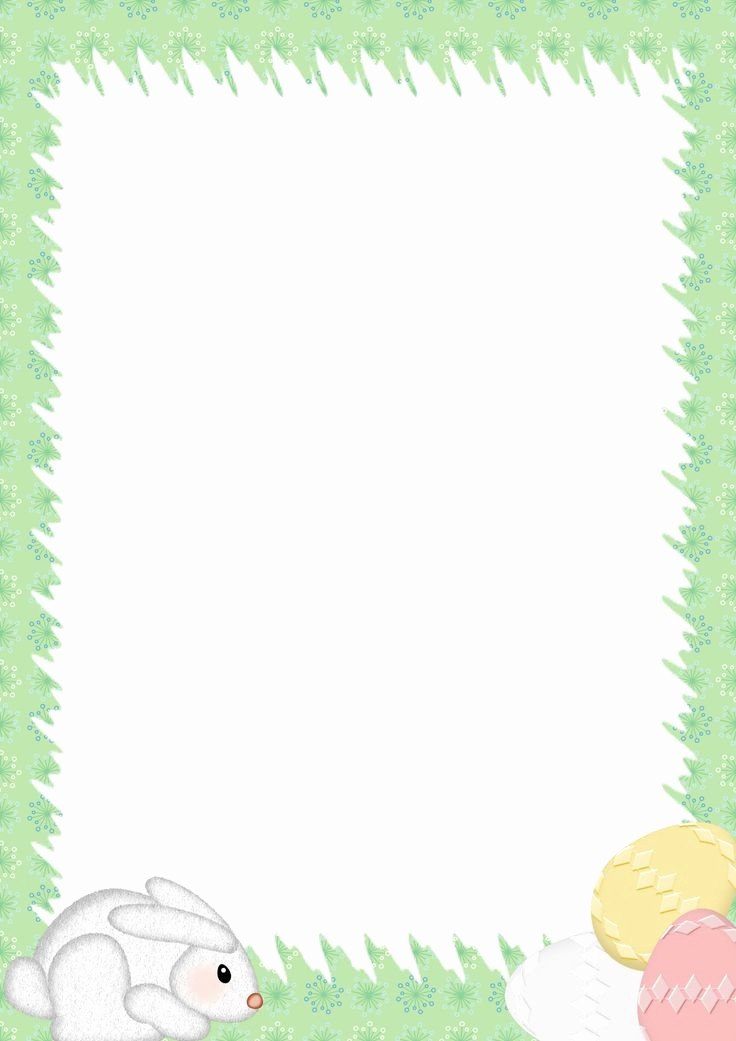 Free Easter Templates for Word Fresh Easter Stationery