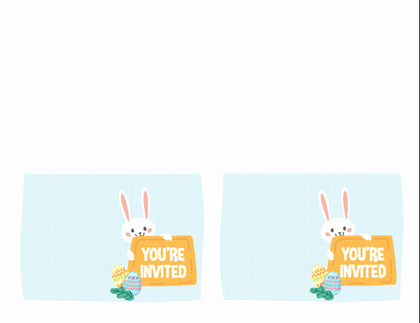 Free Easter Templates for Word Inspirational Easter Party Invitation