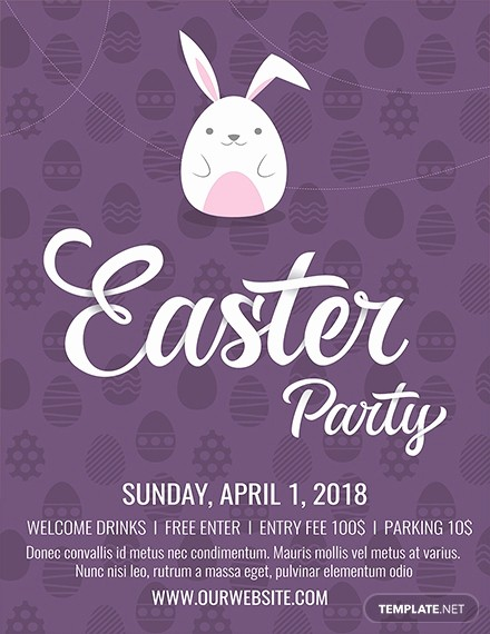 Free Easter Templates for Word Inspirational Free Easter Flyer Template Download 416 Flyers In Psd
