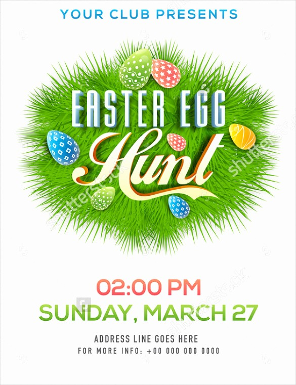 Free Easter Templates for Word New 31 Easter Flyer Templates – Free Sample Example format