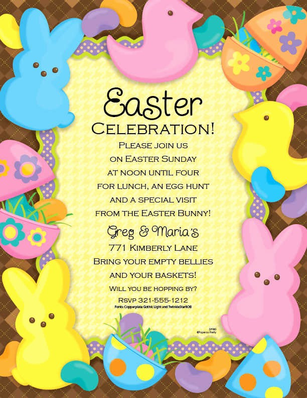 Free Easter Templates for Word Unique Easter Invitation Template Word Templates Resume