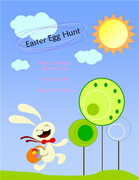 Free Easter Templates for Word Unique Free Easter Templates for Word – Happy Easter