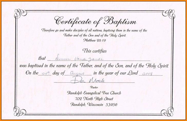 Free Editable Baptism Certificate Template Lovely Template Editable Certificate Appreciation Template