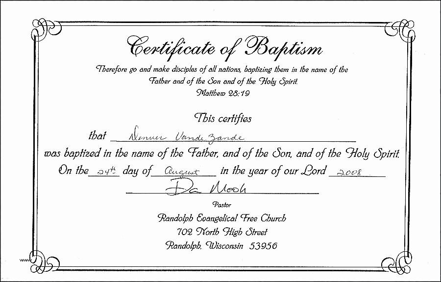 Free Editable Baptism Certificate Template New Prestigious Church Membership Certificate Template Free