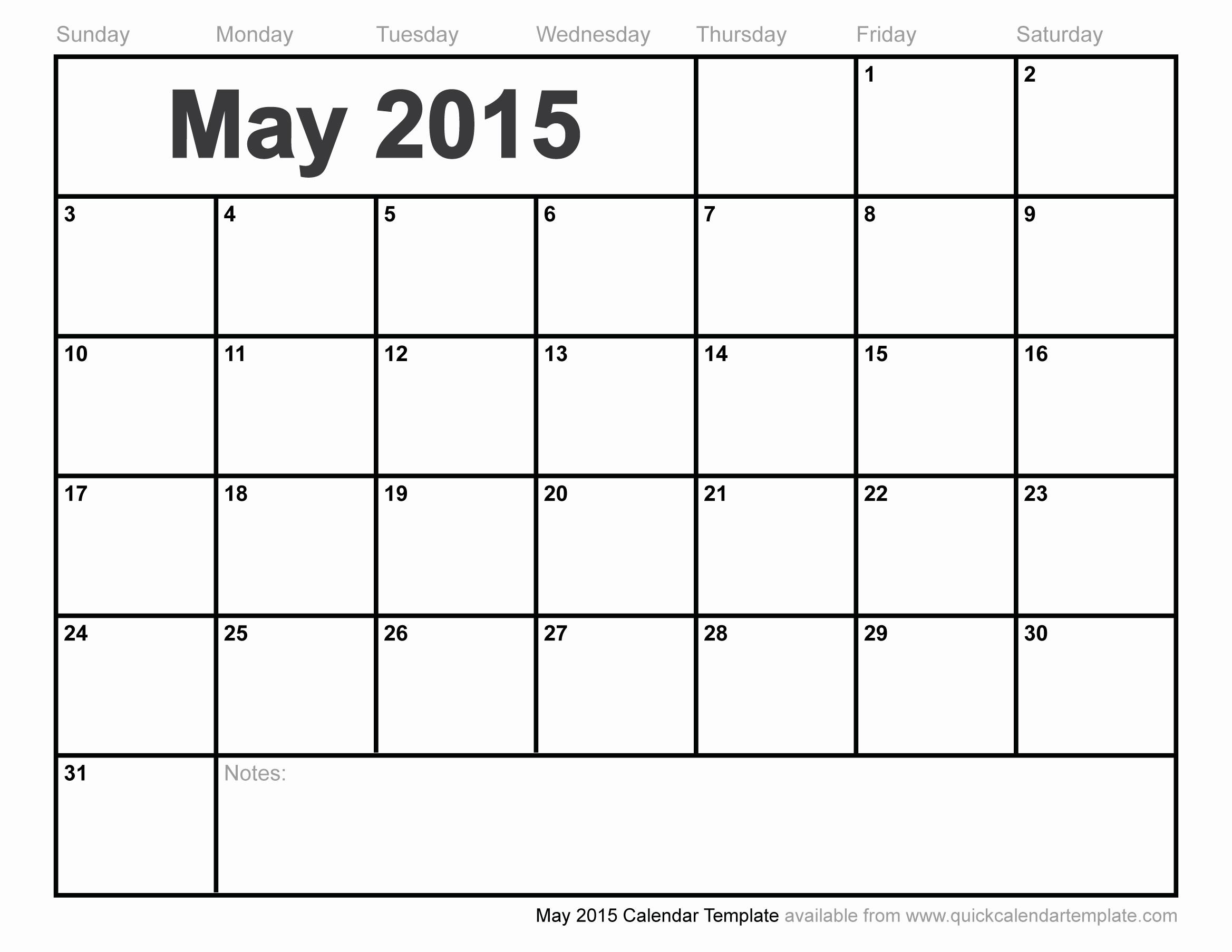 Free Editable Calendar for Teachers Elegant May 2015 Calendar Template Free Editable Calendars for