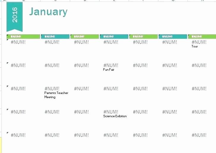 Free Editable Calendar for Teachers Fresh Editable 2016 Calendar Printable for Teachers Template