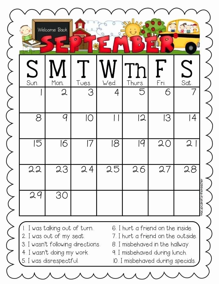 Free Editable Calendar for Teachers Unique Editable 2016 Calendar Printable for Teachers Teacher