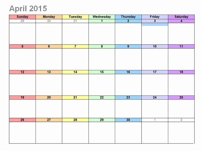 Free Editable Calendar Template 2015 Inspirational 17 2015 Calendar Template Editable 2015 Monthly