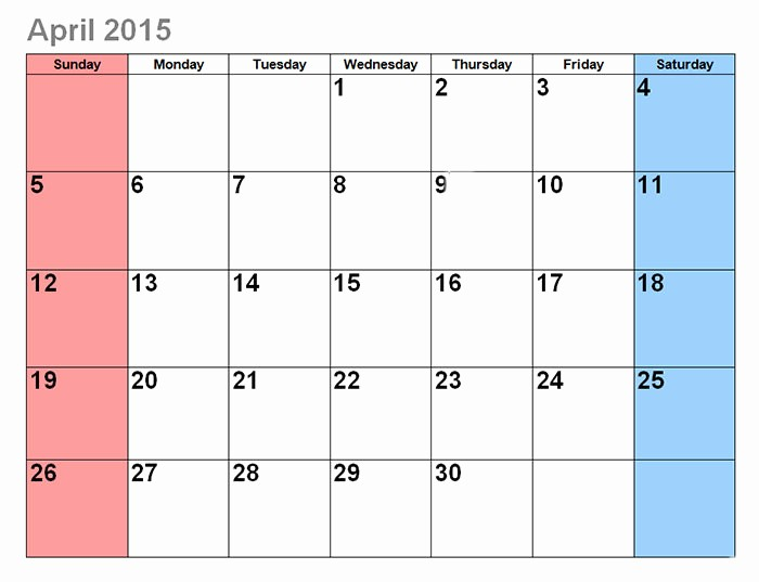 Free Editable Calendar Template 2015 Luxury 17 2015 Calendar Template Editable 2015 Monthly