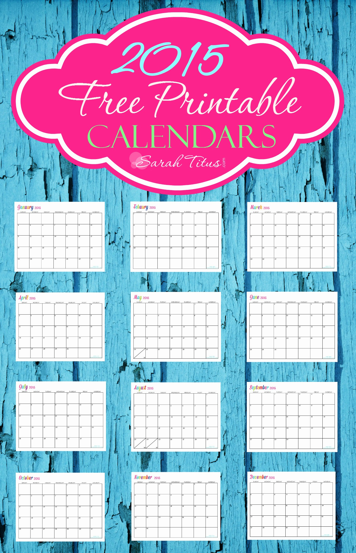 Free Editable Calendar Template 2015 New 6 Best Of Editable May 2015 Monthly Calendar