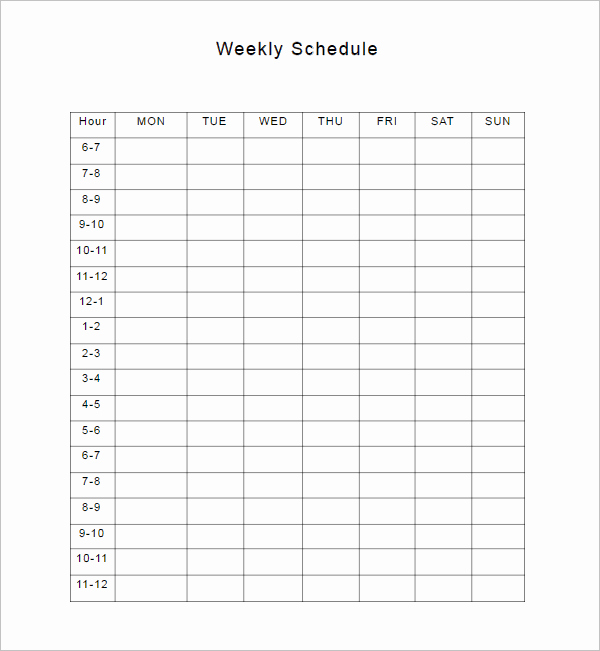 Free Editable Cleaning Schedule Template Best Of 28 Weekly Schedule Templates Free Excel Pdf formats