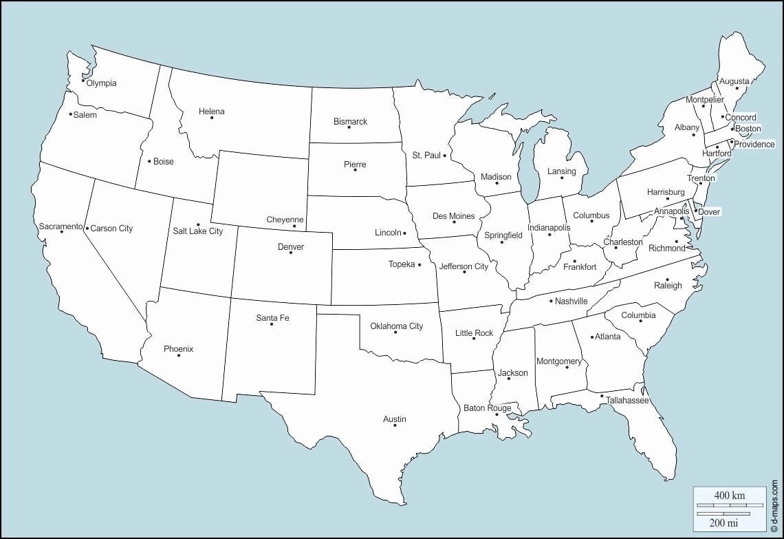 Free Editable Map Of Us Fresh Free Editable Maps Usa