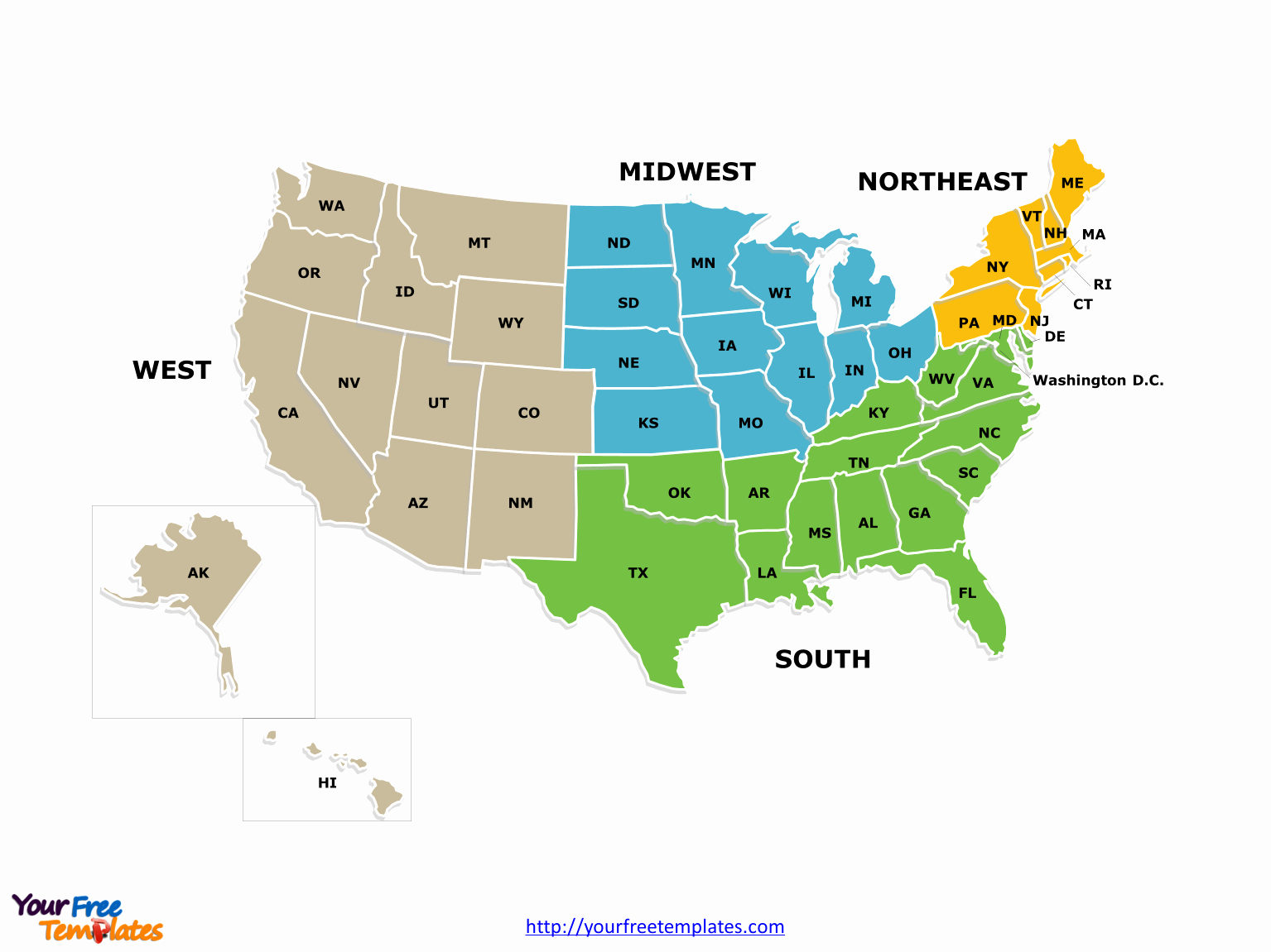 Free Editable Map Of Us Lovely Free Editable Us Map Template United States America