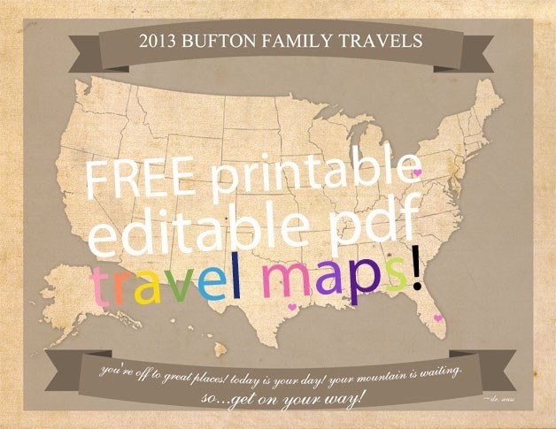 Free Editable Map Of Us Unique Free Editable Travel Map Printable