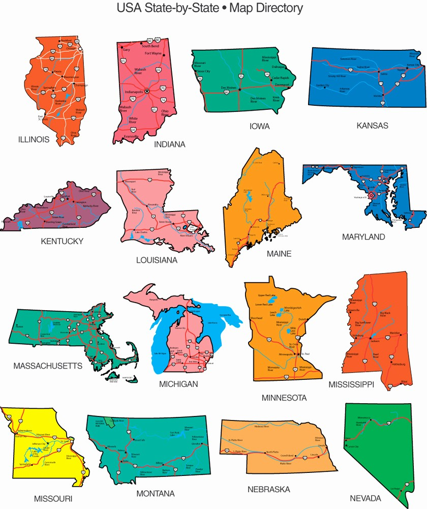 Free Editable Maps Of Usa Elegant State Map Clipart Clipart Suggest