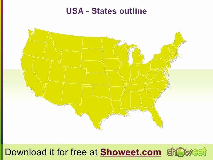 Free Editable Maps Of Usa Lovely Hi Def Editable Powerpoint Map Of Usa – Free Map