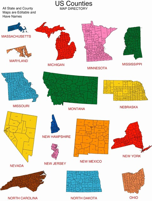 Free Editable Maps Of Usa Lovely Maps for Design • Editable Clip Art Powerpoint Maps