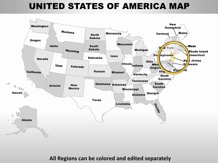 Free Editable Maps Of Usa Lovely Usa New Jersey State Powerpoint County Editable Ppt Maps