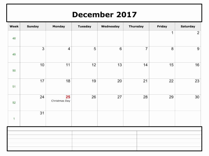 Free Editable Printable Calendar 2017 Inspirational December 2017 Calendar Editable Free Archives Printable