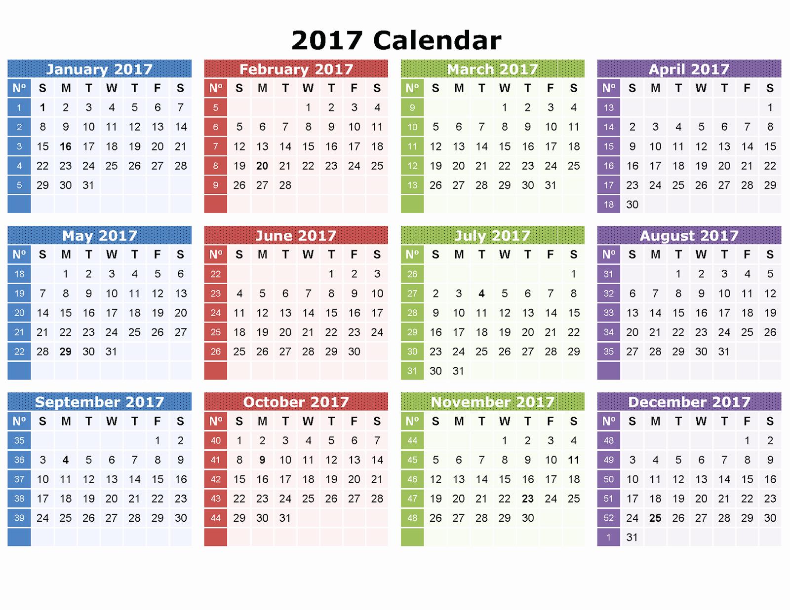 Free Editable Printable Calendar 2017 Inspirational Printable Calender Editable Template Calendar 2017
