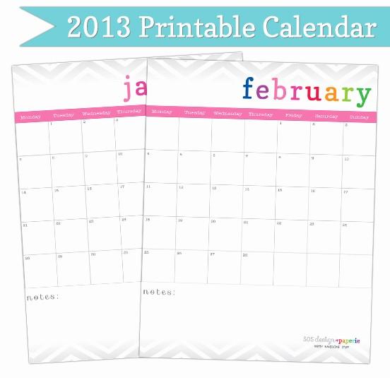 Free Editable Printable Calendar 2017 Unique Free Editable Calendar