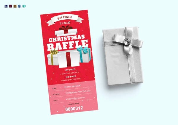 Free Editable Raffle Ticket Template Awesome 23 Raffle Ticket Templates – Pdf Psd Word Indesign