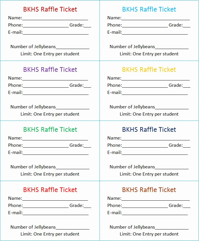 Free Editable Raffle Ticket Template Awesome the Gallery for Blank Diaper Raffle Ticket