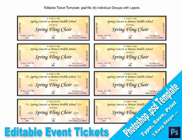 Free Editable Raffle Ticket Template Lovely 17 Best Ideas About event Tickets On Pinterest