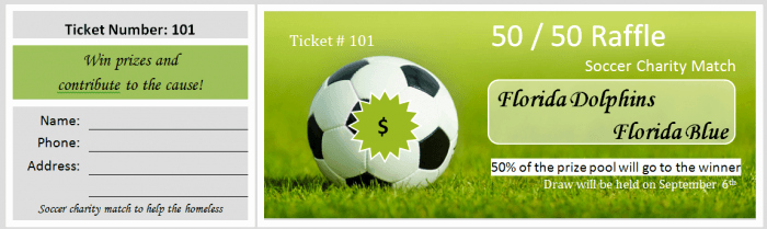 Free Editable Raffle Ticket Template New 41 Free Editable Raffle & Movie Ticket Templates Free