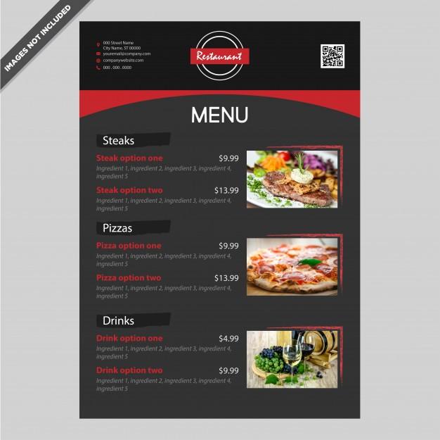 Free Editable Restaurant Menu Templates Beautiful Elegant Restaurant Cafe Menu Template Design Editable