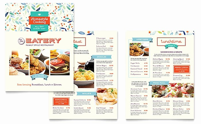Free Editable Restaurant Menu Templates Fresh 18 Restaurant Menu Templates Editable Psd format