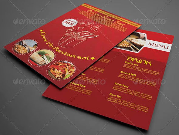 Free Editable Restaurant Menu Templates New 12 Best Chinese Food Restaurant Menu Templates