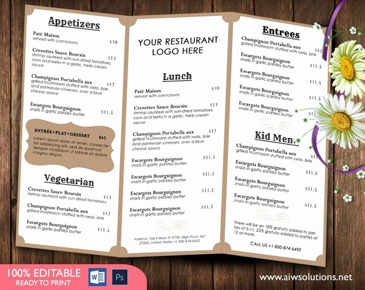 Free Editable Restaurant Menu Templates Unique French Menutemplates Printable Restaurant Menu Template