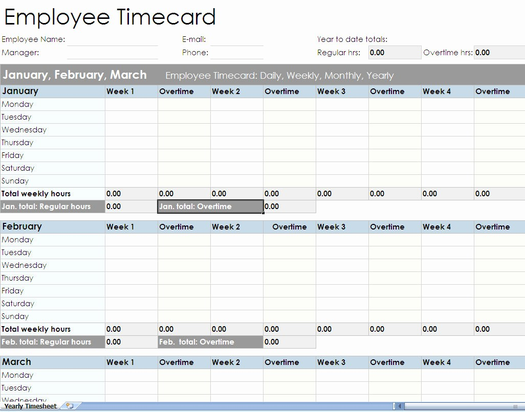 Free Employee Time Tracking Spreadsheet Best Of Employee Timesheet Spreadsheet form Excel Templates