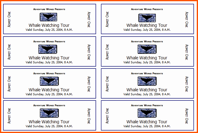 Free event Ticket Template Printable Lovely event Ticket Template Design Templates