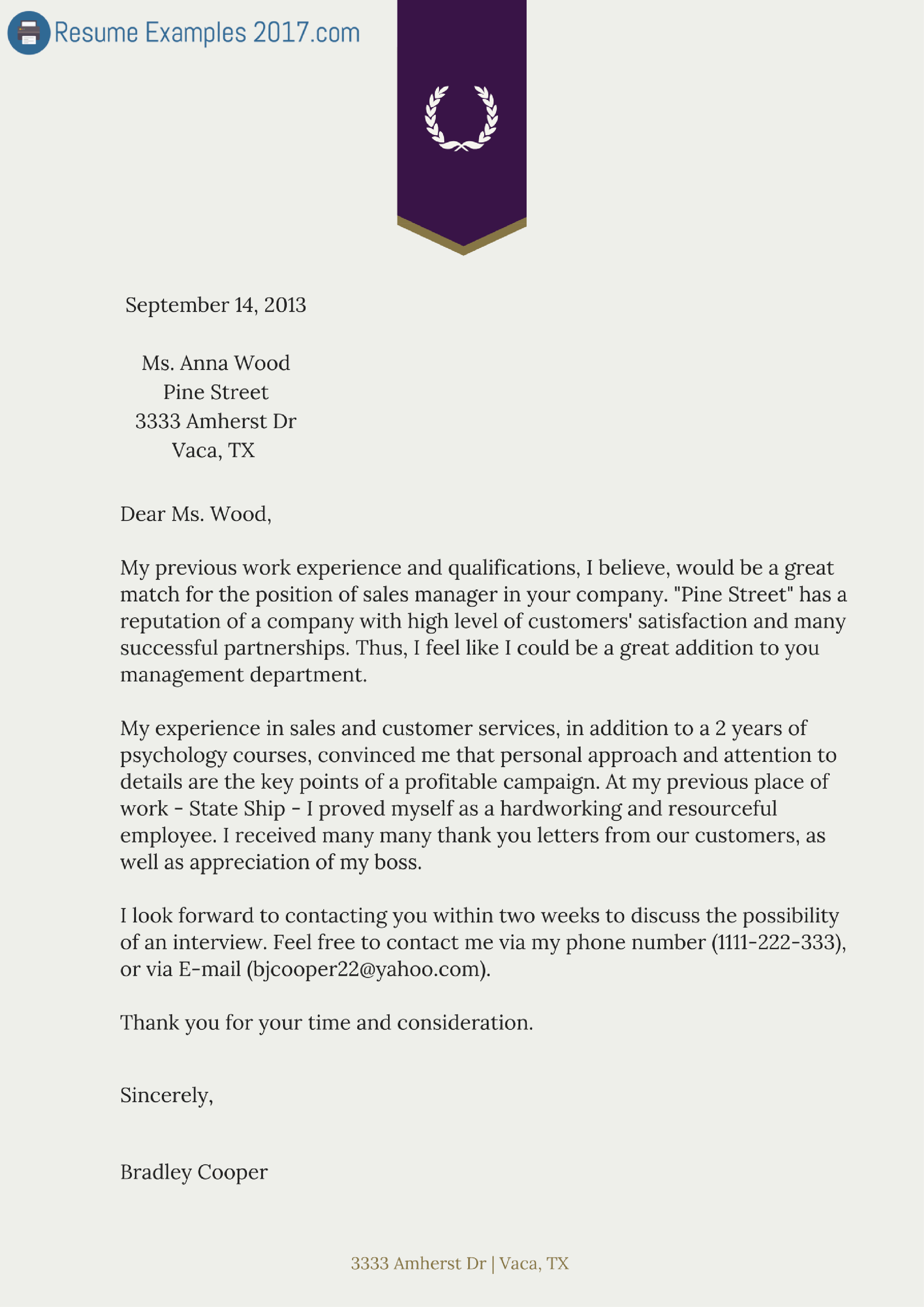 Free Examples Of Cover Letter Luxury Download Cover Letter Samples