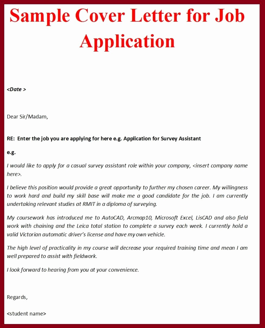 Free Examples Of Cover Letter New 17 Sample Of Cover Letter Pdf