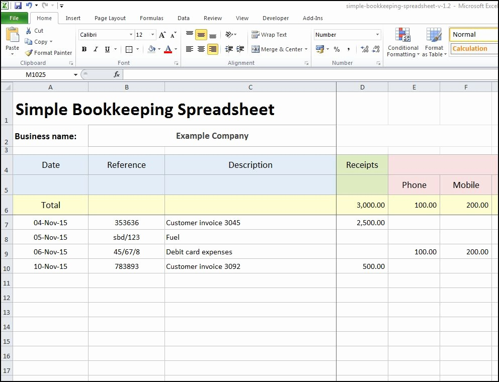 Free Excel Accounting Templates Download Lovely Excel Bookkeeping Sheet for Accounting Template Free