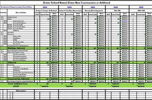 Free Excel Cost Estimate Template Beautiful Free Construction Estimate Template Excel