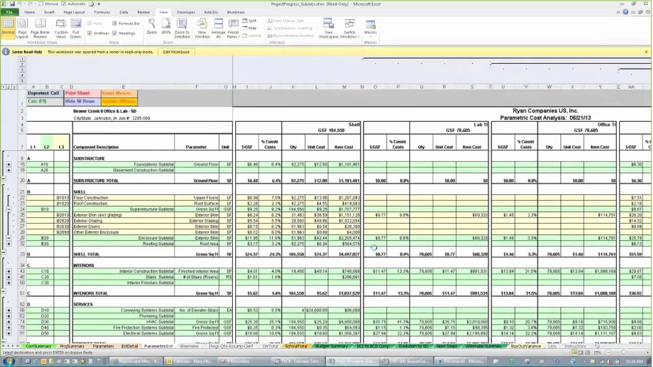 Free Excel Cost Estimate Template Inspirational Free Construction Cost Estimate Template Excel