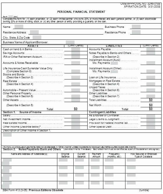 Free Excel Financial Statement Templates Elegant Individual Financial Statement Template Best How to Read