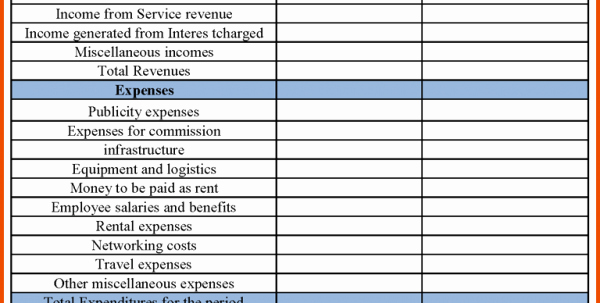 Free Excel Financial Statement Templates Fresh Free Business Financial Statement Template Financial