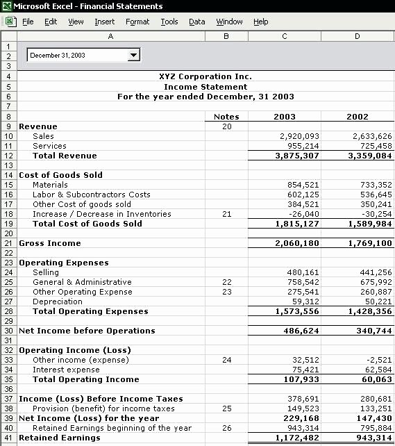 Free Excel Financial Statement Templates New 8 Personal Financial Statement Template Free Download