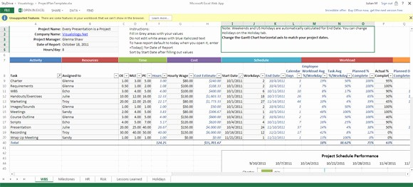 Free Excel Project Tracking Templates Lovely Simple Project Tracking Template