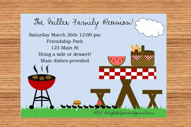 Free Family Reunion Flyer Templates Awesome 24 Free Picnic Flyer Templates for All Types Of Picnics