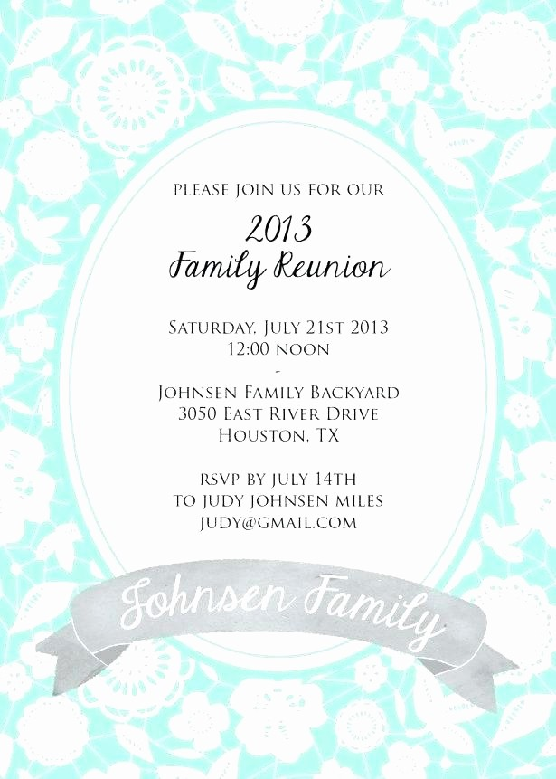 Free Family Reunion Flyer Templates Awesome Family Reunion Invite Swirly Tree Printable by Flyer