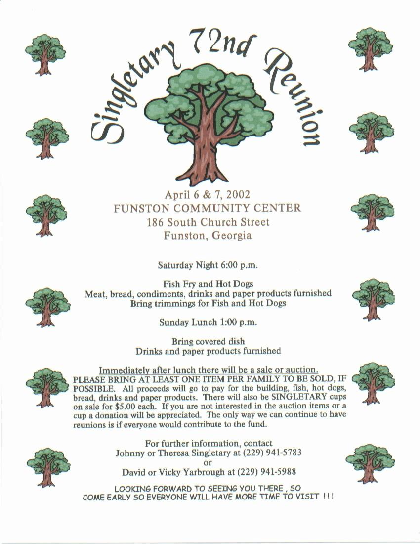 Free Family Reunion Flyer Templates Elegant Family Reunion Printable Certificates